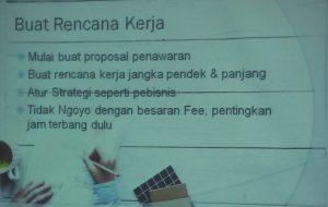 Plan kerja freelancer