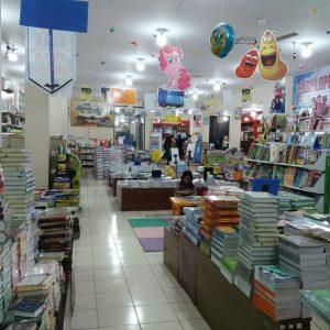 Toko Buku Petra Togamas Pucang, lantai 2