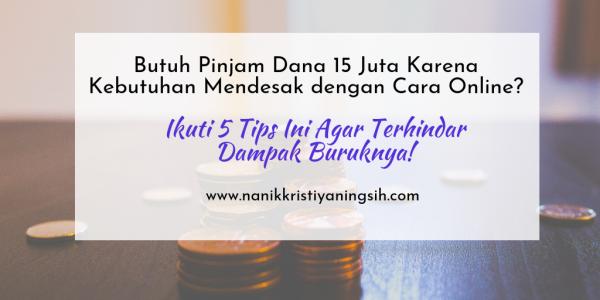 Butuh Pinjam Dana Secara Online