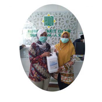 donasi hand sanitizer